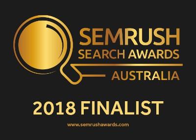SEMRush Search Awards - 2018 Finalist