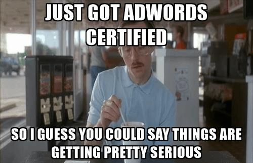 Adwords certified meme
